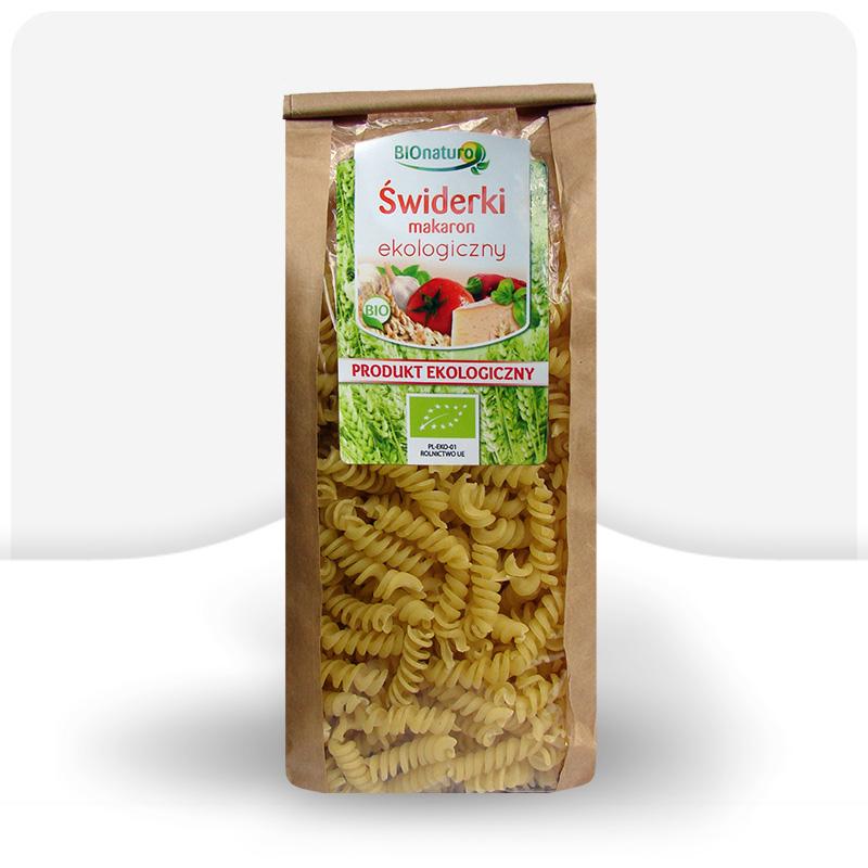 Świderki makaron pszenny ekologiczny 350g