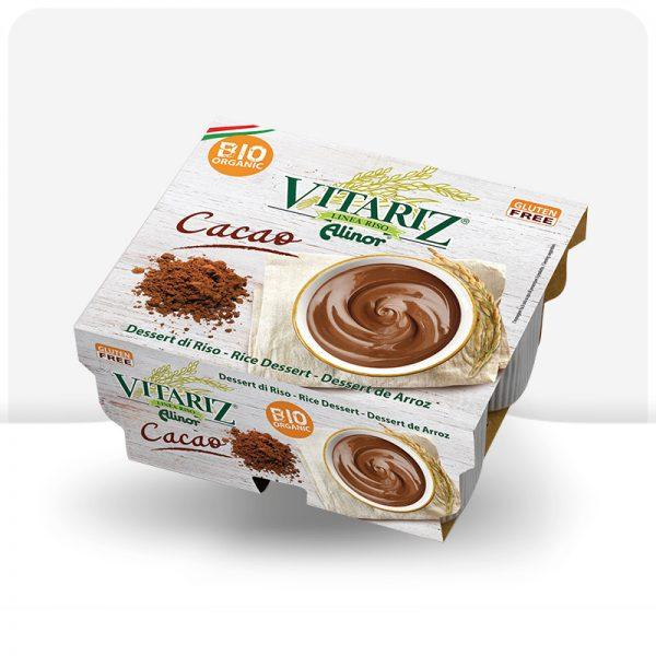 Deser ryżowy kakaowy BIO Vitariz 4x100g