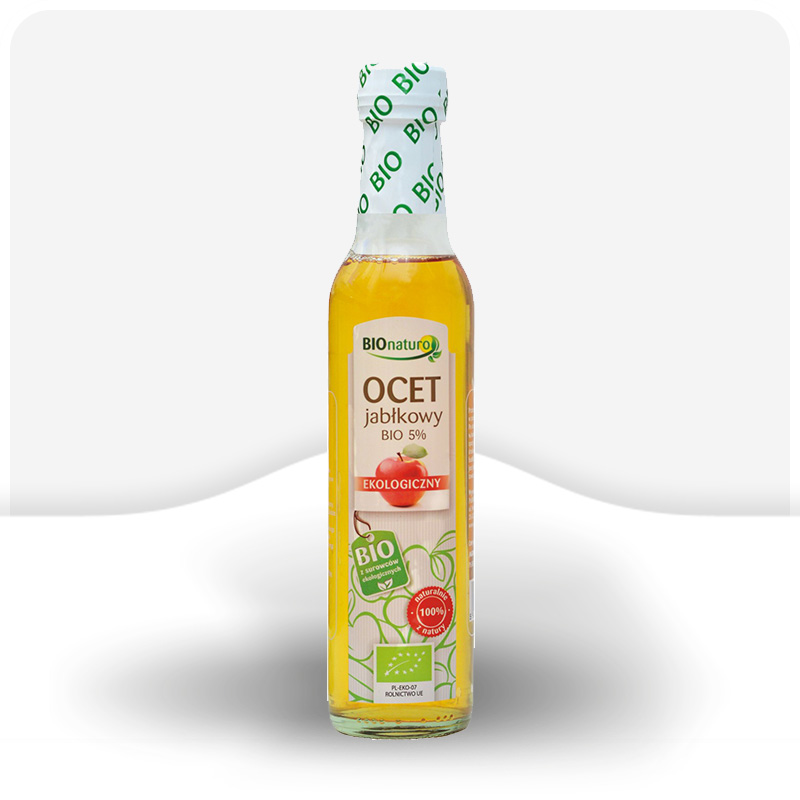 Ekologiczny ocet jabłkowy 5% 250ml