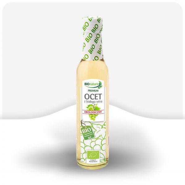 Ekologiczny ocet z białego wina BIO 250ml