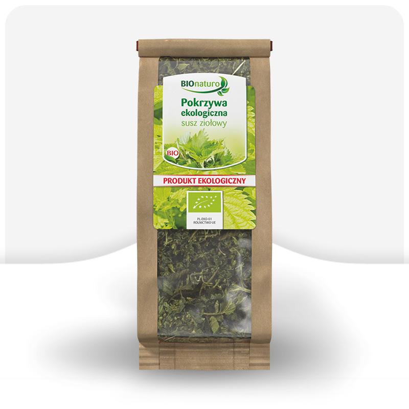 Ekologiczny susz ziołowy - Pokrzywa BIO 70g