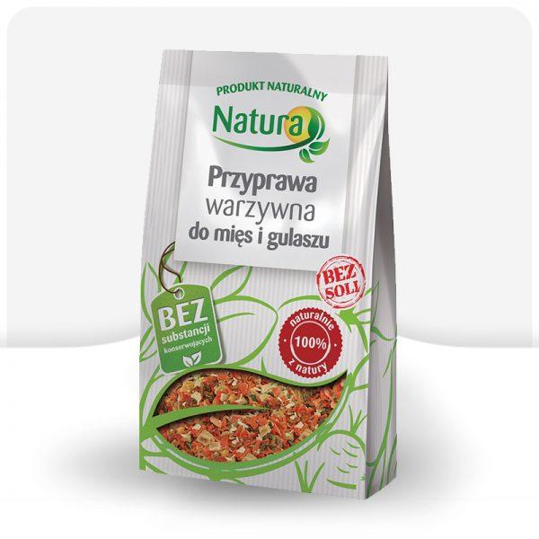 Przyprawa ekologiczna warzywna do mięs i gulaszu 50g