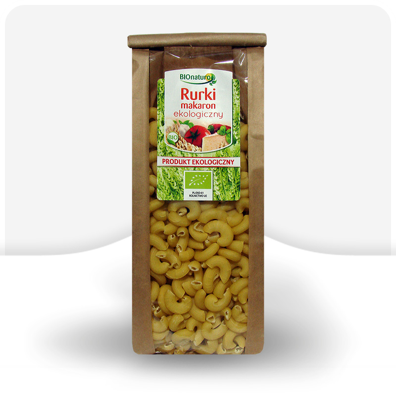 Rurki makaron pszenny ekologiczny 350g