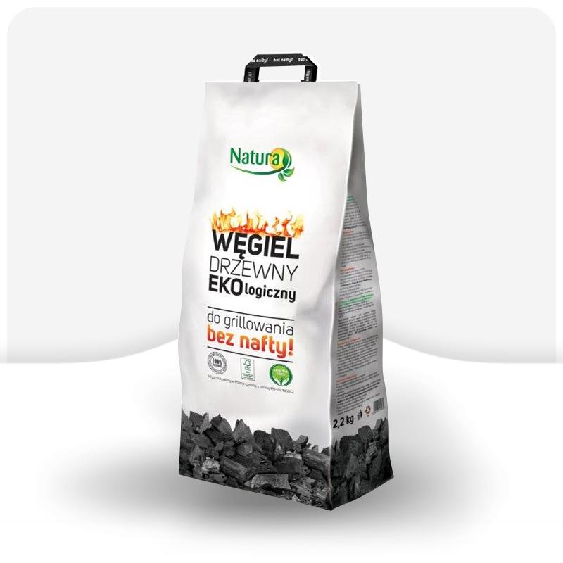 Węgiel drzewny ekologiczny 2,2kg