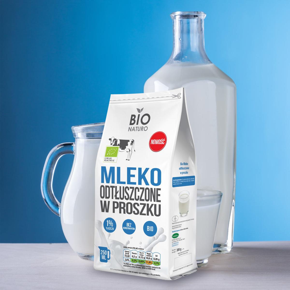 Mleko odtłuszczone w proszku
