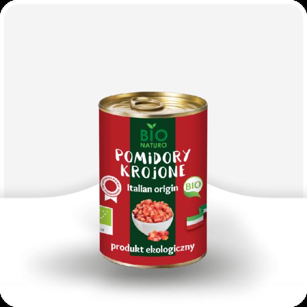 Pomidory krojone w puszce