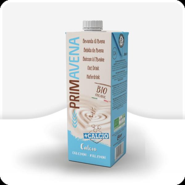 Napój mleczny bio organiczny primavena calcio