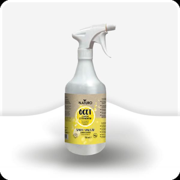 Ocet do sprzątania cytrynowy naturo