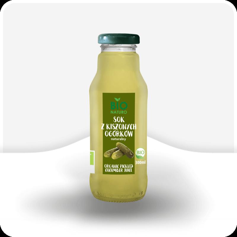 sok z kiszonych ogórków naturalny bio naturo