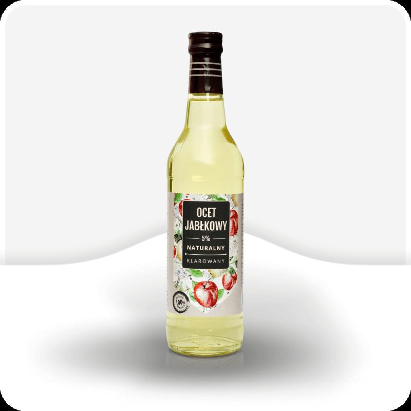 Ocet jabłkowy naturalny klarowany polbioeco
