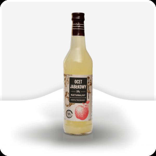 Ocet Jabłkowy Niefiltrowany polbioeco