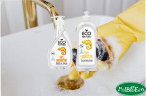 Mydło w płynie i płyn do mycia naczyń Eco Naturo PolBioEco
